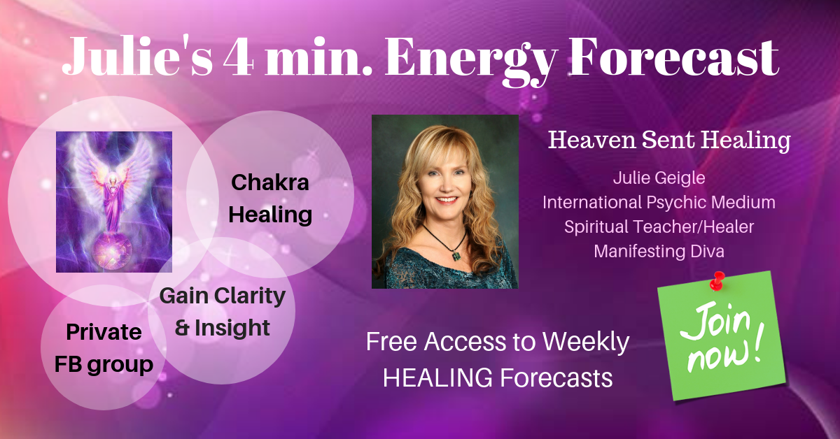 Julie's 4 min Energy Forecast