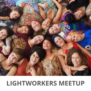 Lightworkers Meetup welcome page