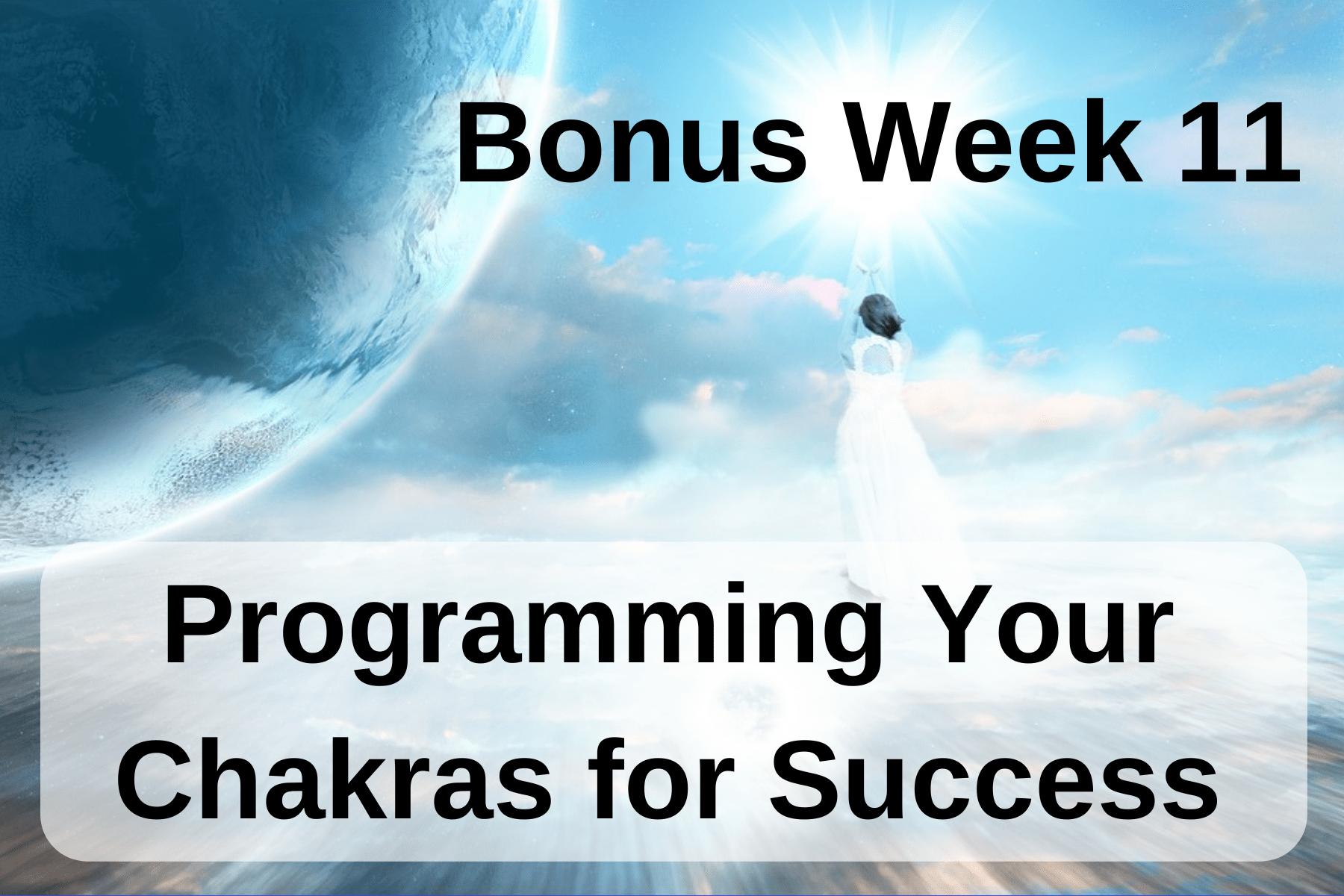 LA Bonus wk 11 Programming Your Chakras for Success